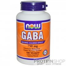 NOW GABA 750 mg 100 kapszula