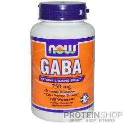 NOW GABA 750 mg 100 kapszula