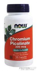 NOW Chromium Picolinate 200mcg 100 kapszula