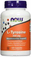 NOW L-Tyrosine 500 mg 120 kapszula