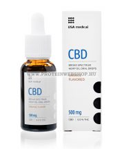 USA Medical CBD olaj 500mg 30ml
