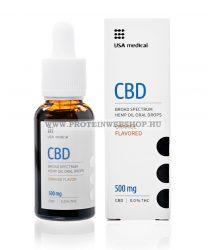 USA Medical CBD olaj 500mg 30ml