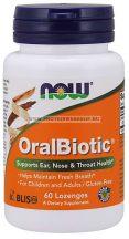 NOW OralBiotic 60 rágótabletta