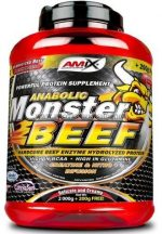 Amix Monster Beef 2200g + MT T-Shirt + MuscleTech Vapor1 Pre-Workout EU 95 g 5 adag