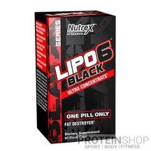 Nutrex Lipo 6 Black Ultra Concentrated 60 kapszula