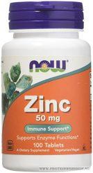 NOW Zinc 50 mg 100 tabletta