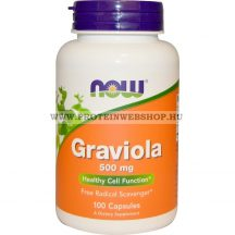 NOW Graviola 500 mg 100 kapszula