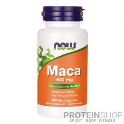 NOW MACA 500mg 100 kapszula