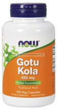 NOW Gotu Kola 450mg 100 kapszula