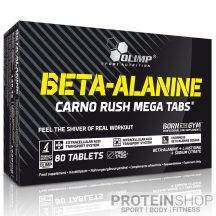 Olimp Nutrition Beta-Alanine Carno Rush 80 tabletta
