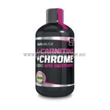 BioTech USA L-Carnitine + Chrom 500ml