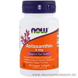 NOW Astaxanthin 4 mg 60 gélkapszula