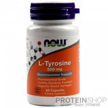 NOW L-Tyrosine 500 mg 60 kapszula