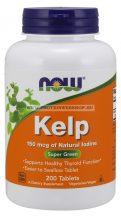 NOW Kelp 150mcg 200 tabletta