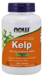 NOW Kelp 150mcg 200 tabletta