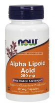 NOW Alpha Lipoic Acid 250 mg 60 vegán kapszula