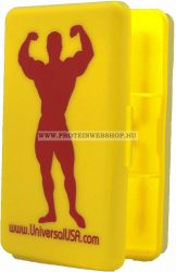 Universal Nutrition Universal kapszula tartó sárga-piros