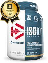 Dymatize NEW Iso 100 - 2200 g + Universal Animal Pak powder 7 adag + MT T-Shirt