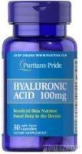Puritan's Pride Hyaluronic Acid 100 mg 30 kapszula