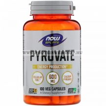 NOW Pyruvate 600mg 100 vegán kapszula