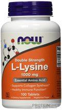 NOW L-Lysine 1000 mg 100 tabletta