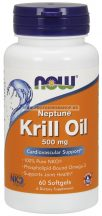 NOW Neptune Krill Oil 500 mg 60 gélkapszula