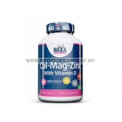 Haya Labs  Calcium Magnesium & Zinc és Vitamin D 90 tabletta