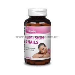 VitaKing - Haj, Bőr, Köröm komplex 60 tabletta Hair , Skin and Nails