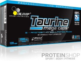 Olimp Nutrition Taurine Mega Caps 1500 - 120 kapszula