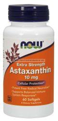 NOW Astaxanthin 10 mg 60 gélkapszula