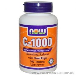 NOW C 1000 with Rose Hips 100 tabletta