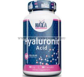 Haya Labs Hyaluronic Acid 40mg 30 kapszula Hialuron sav