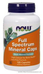 NOW Full Spectrum Minerals Caps 120 kapszula