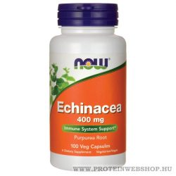 NOW Echinacea 400 mg 100 kapszula