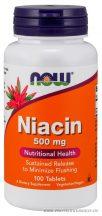NOW Niacin 500 mg 100 tabletta