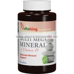 VitaKing Multi Mega Mineral 90 tabletta Ásványi anyag komplex