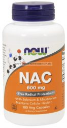 NOW NAC 600 mg 100 kapszula