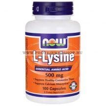 NOW L-Lysine 500mg 100 kapszula