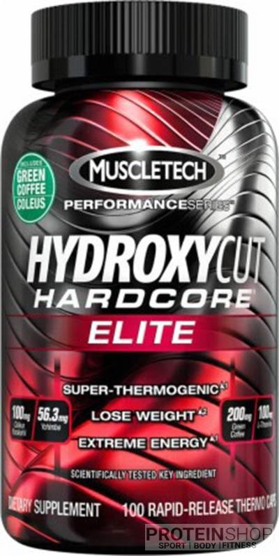 MuscleTech Hydroxycut Hardcore Elit 110 kapszula