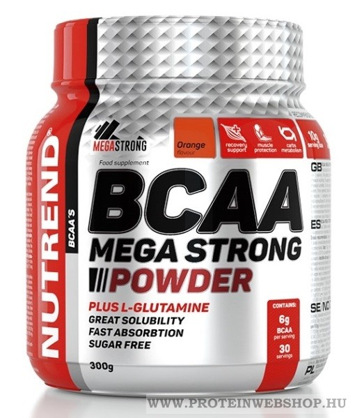 Nutrend BCAA Mega Strong Powder 300g