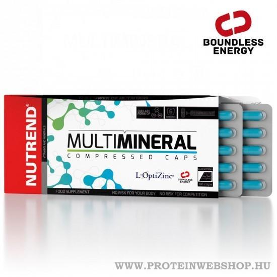 Nutrend Multimineral Compressed caps 60 kapszula